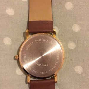 target Accessories - Watch from Target with world map